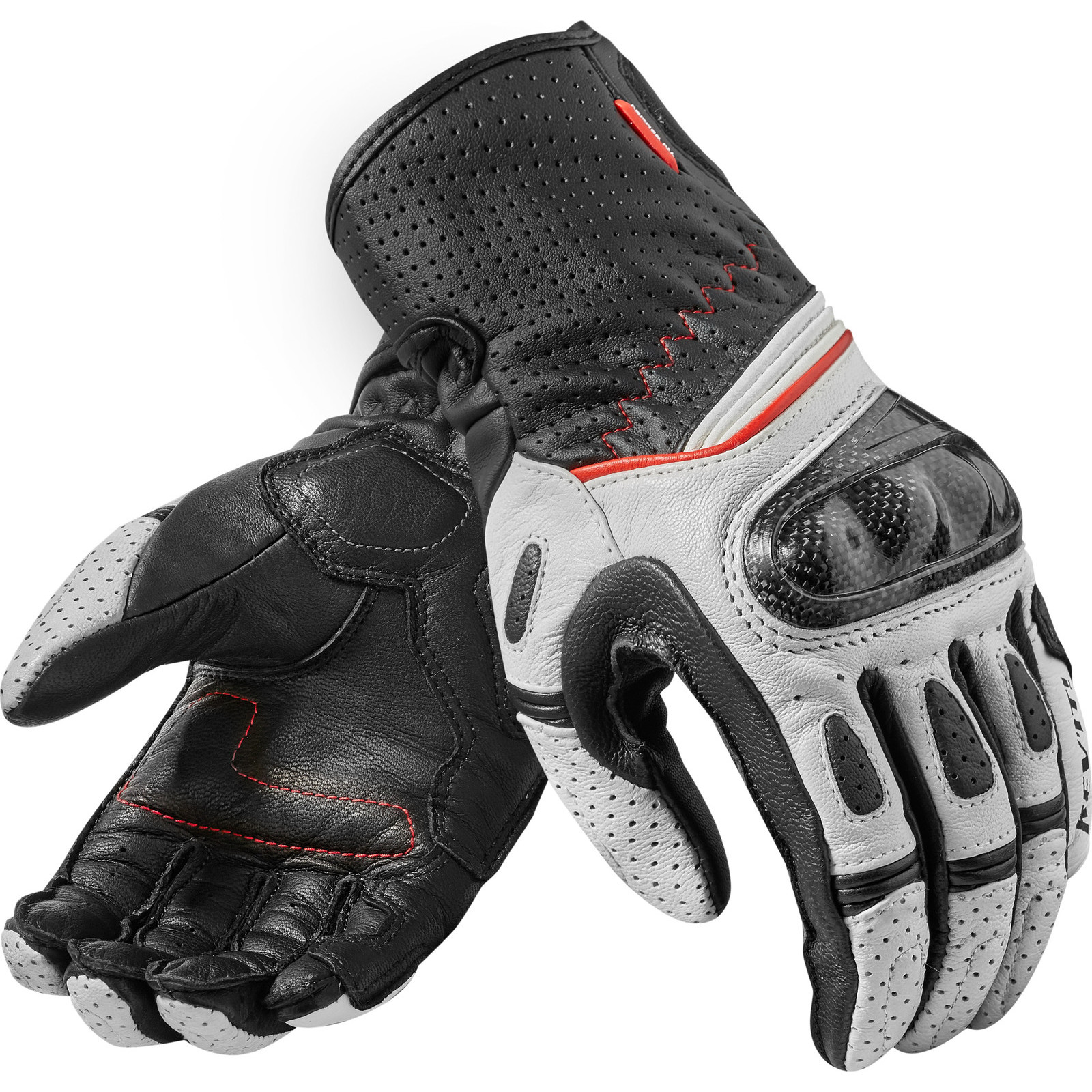 Motorcycle gloves for summer - Rev It Chevron 2 Ladies Leather Motorcycle Gloves