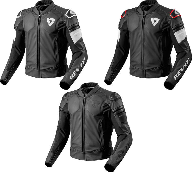 Rev It Akira Leather Motorcycle Jacket