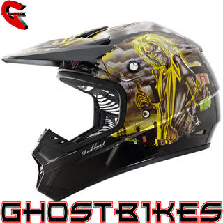 View Item Oneal Rockhard Iron Maiden Killers Motocross Helmet