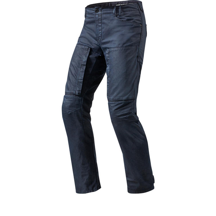 Rev It Recon Solid Dark Blue Motorcycle Jeans