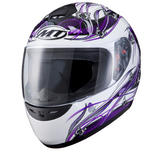 View Item MT Thunder Butterfly Ladies Motorcycle Helmet