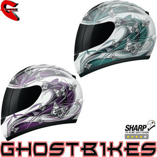 View Item MT Thunder Butterfly Motorcycle Helmet
