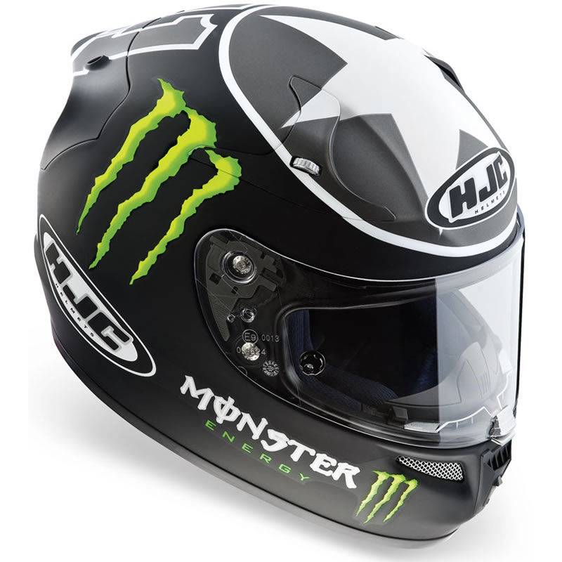 hjc r pha 10 ben spies monster motorcycle helmet xl ebay. Black Bedroom Furniture Sets. Home Design Ideas