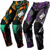 One Industries Youth Carbon Twisted Motocross Pants