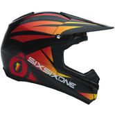 SixSixOne Fenix Shards Motocross Helmet