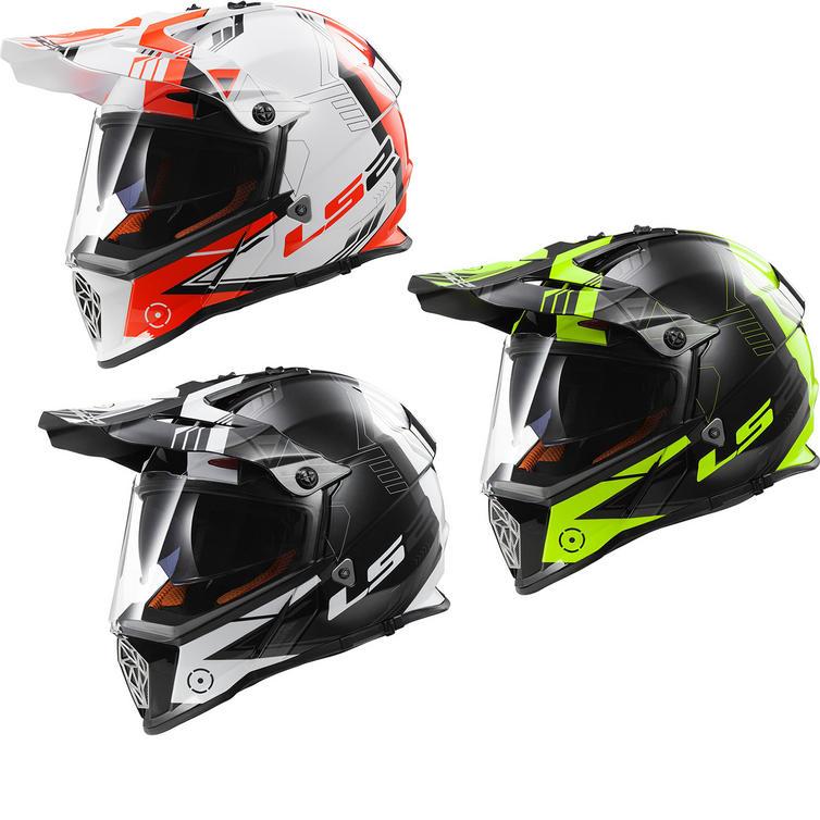 LS2 MX436.21 Pioneer Trigger Dual Sport Helmet