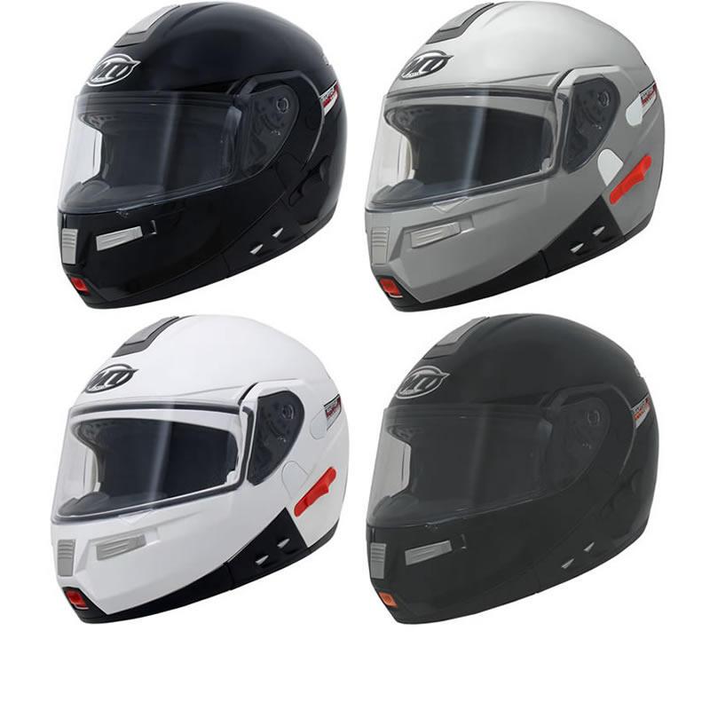 MT Raptor Flip Front Motorcycle Helmet
