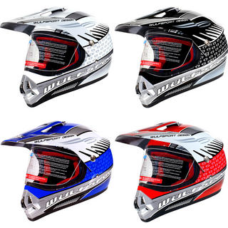 Wulf Prima 2 Wulfsport Motocross Visor Helmet