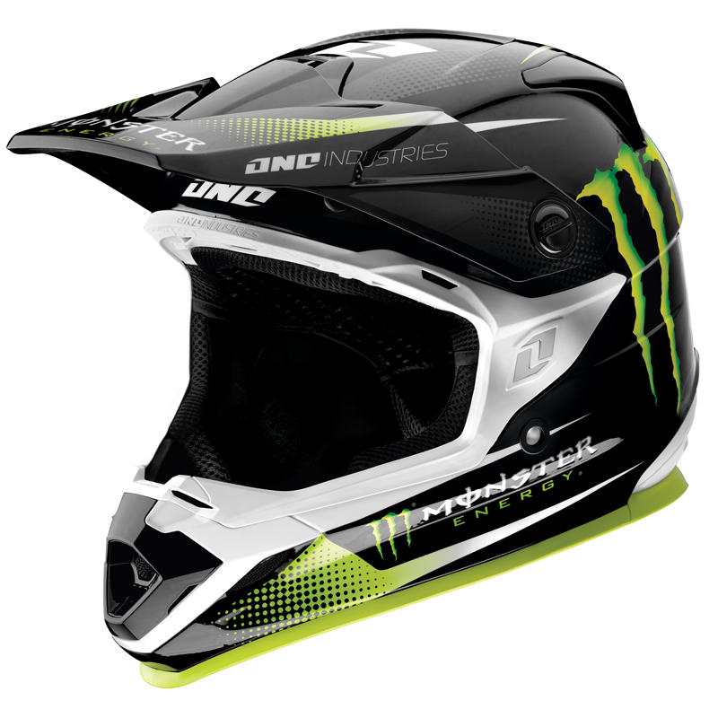 one industries trooper 2 monster energy motocross helmet. Black Bedroom Furniture Sets. Home Design Ideas