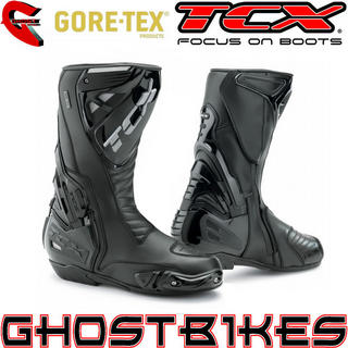 View Item TCX S-Race Gore-Tex Motorcycle Boots