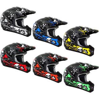 THH TX-12 #7 Motocross Helmet