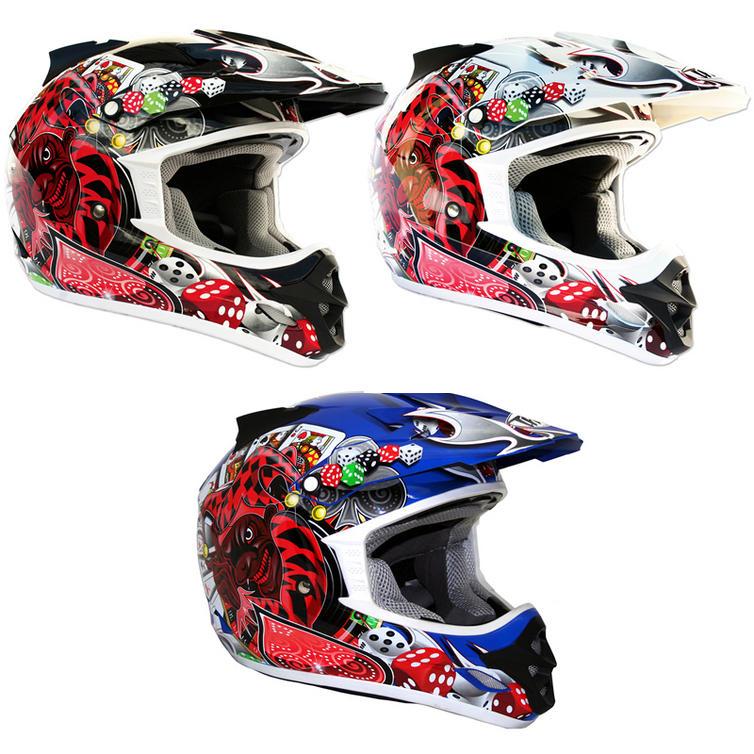 THH TX-23 #9 Joker Motocross Helmet