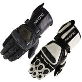 View Item Duchinni Stig Leather Motorcycle Gloves