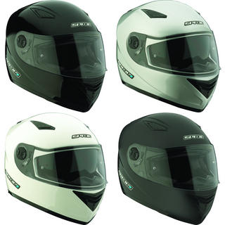 Spada Evolution Plain Motorcycle Helmet