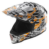 LS2 MX437J Fast Mini Glitch Youth Motocross Helmet