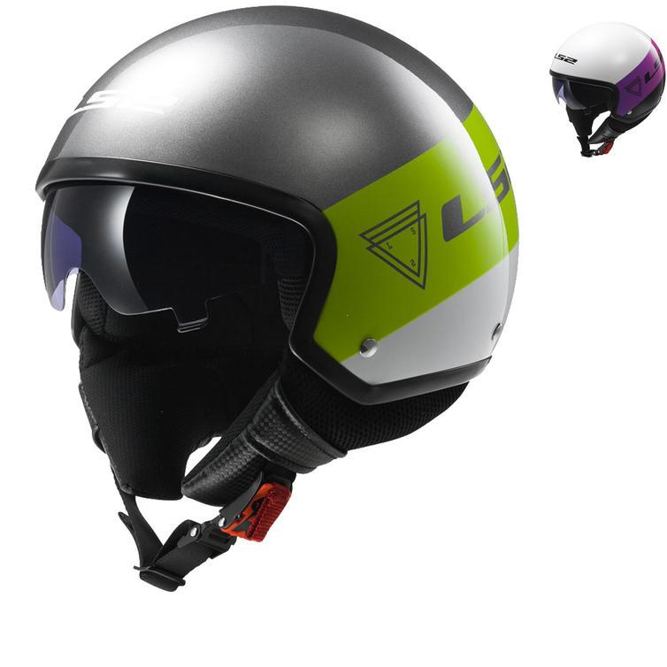 LS2 OF561.21 Wave Beat Open Face Motorcycle Helmet