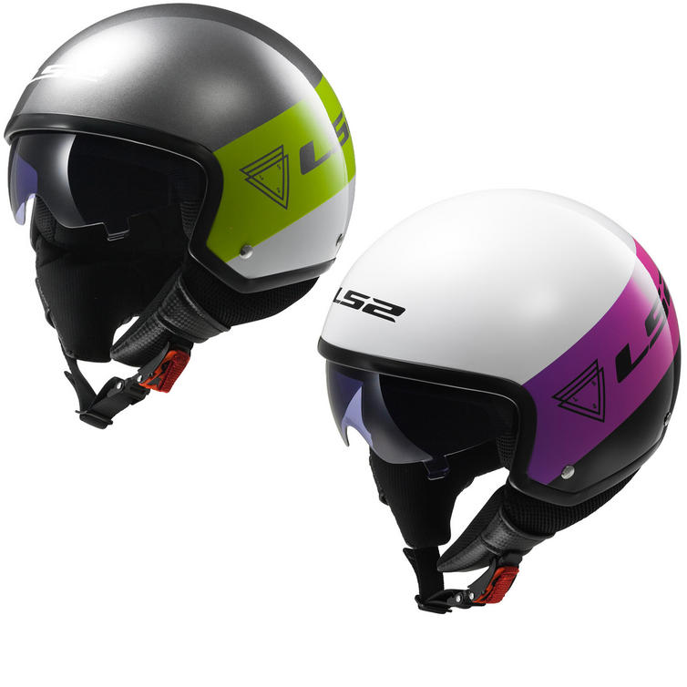 LS2 OF561.21 Wave Beat Open Face Motorcycle Helmet