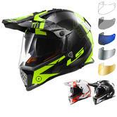 LS2 MX436.21 Pioneer Trigger Dual Sport Helmet & Visor