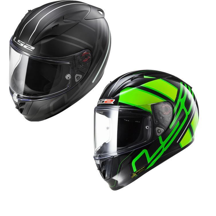 LS2 FF323.24 Arrow R Ion Motorcycle Helmet & Visor