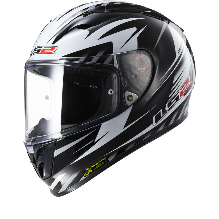 LS2 FF323.25 Arrow R Matrix Motorcycle Helmet & Visor