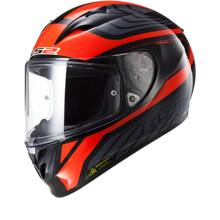 LS2 FF323.26 Arrow R Burner Motorcycle Helmet & Visor