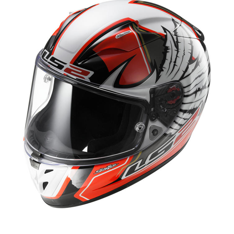 LS2 FF323.99 Arrow R Replica Yonny Hernandez Motorcycle Helmet & Visor