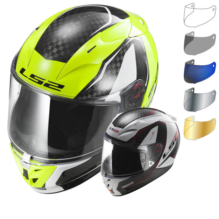 LS2 FF323.32 Arrow C Fury Motorcycle Helmet & Visor