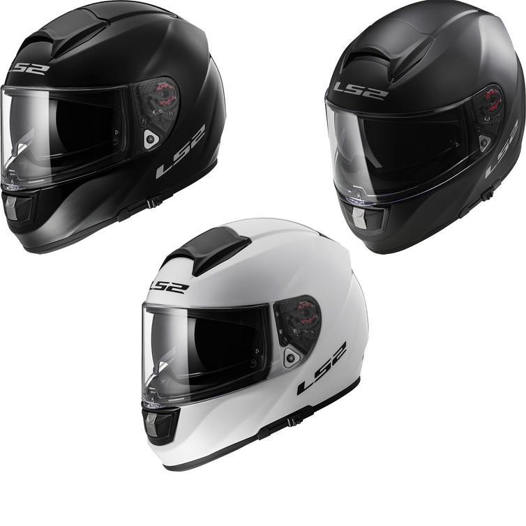 LS2 FF397.10 Vector Solid Motorcycle Helmet & Visor