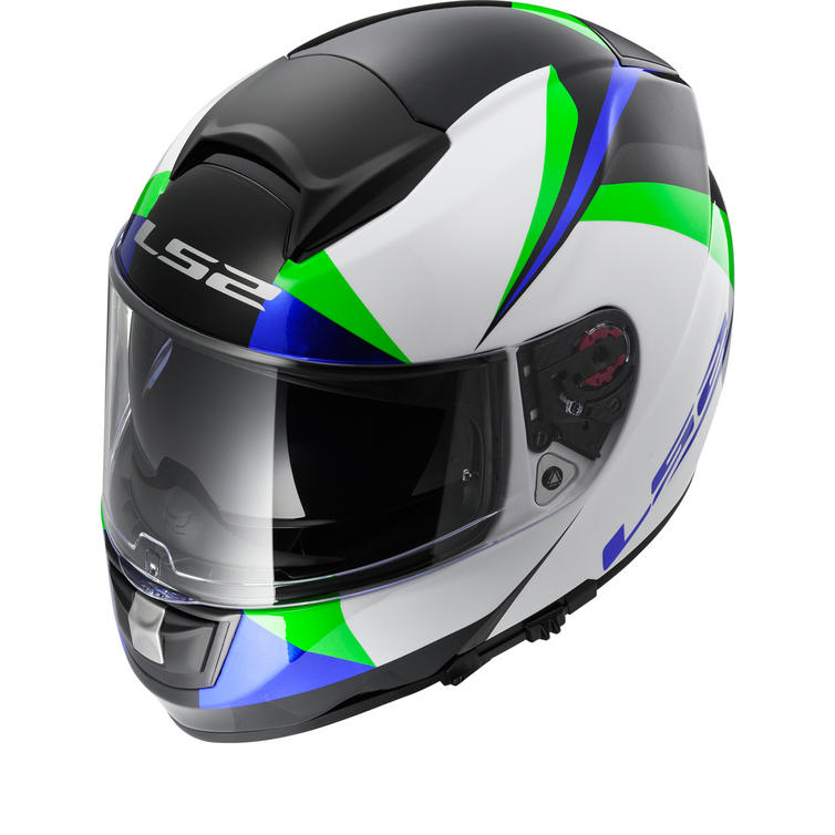 LS2 FF397.23 Vector Labyrinth Motorcycle Helmet & Visor