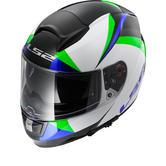 LS2 FF397.23 Vector Labyrinth Motorcycle Helmet & Visor