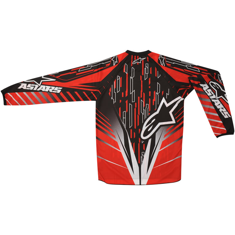 Alpinestars 2012 Youth Racer Mx Shirt Motocross Kids Junior Dirt