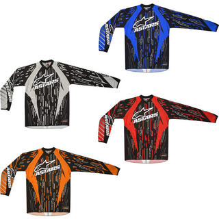 Alpinestars 2012 Youth Racer Motocross Jersey
