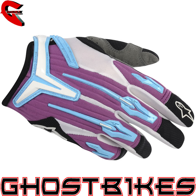 ALPINESTARS 2012 STELLA CHARGER MTB DH MOTORCROSS MX LADIES RACE OFF ROAD GLOVES Enlarged Preview