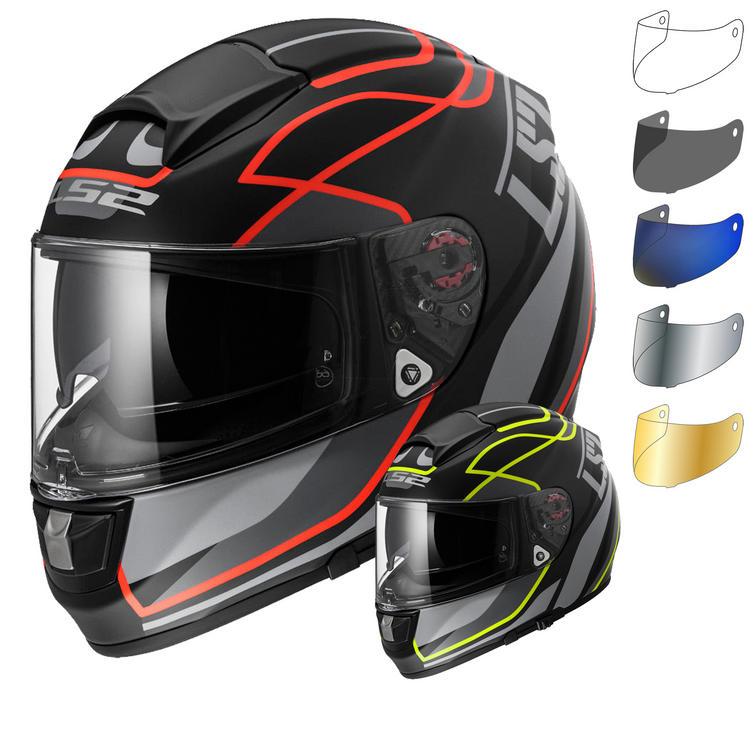 LS2 FF397.26 Vector Vantage Motorcycle Helmet & Visor