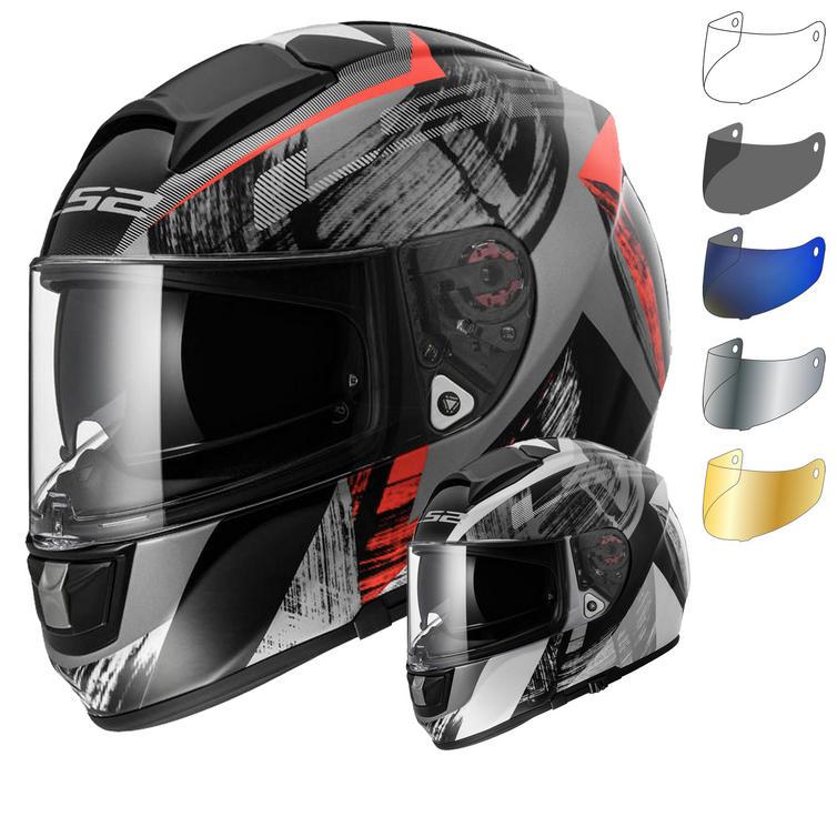 LS2 FF397.27 Vector Cosmos Motorcycle Helmet & Visor