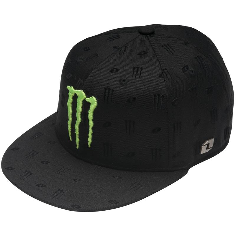 af5a3b001f Image is loading ONE-INDUSTRIES-MONSTER-ENERGY-LUXURY-HAT-FITTED-CAP