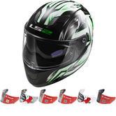 LS2 FF320.24 Stream Steel Motorcycle Helmet & Visor