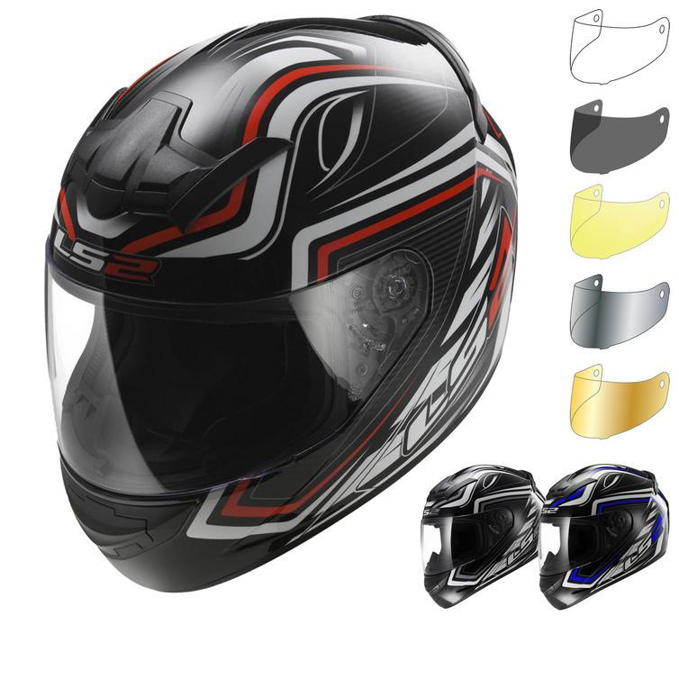 Image of LS2 FF352.33 Rookie Ranger Motorcycle Helmet & Visor