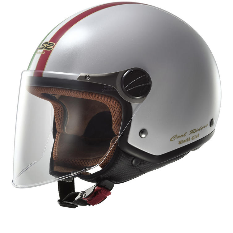 LS2 OF560.22 Rocket 2 Trip Open Face Motorcycle Helmet & Visor