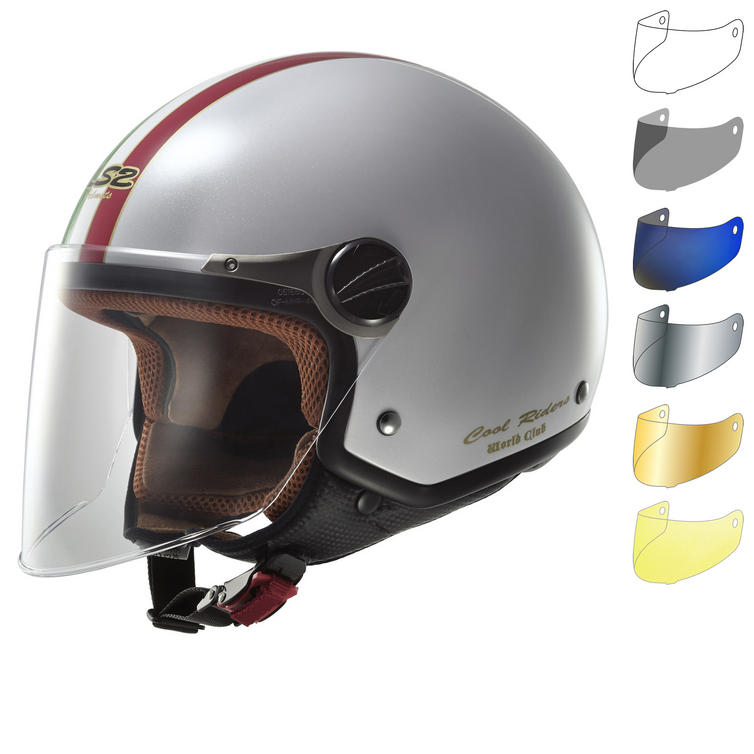 LS2 OF560.22 Rocket 2 Trip Open Face Motorcycle Helmet & Visor