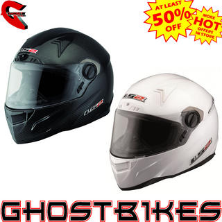 LS2 FF385 CR1 Single Mono Motorcycle Helmet