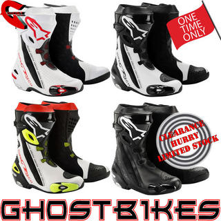 View Item Alpinestars 2012 Supertech R Motorcycle Boots