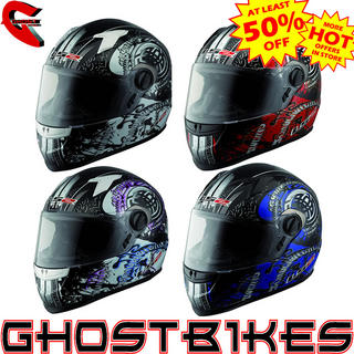 LS2 FF358 Celtic Motorcycle Helmet