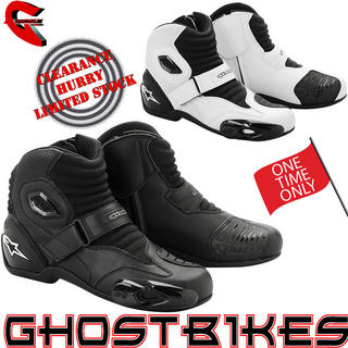 View Item Alpinestars S-MX 1 Short Motorcycle Boots