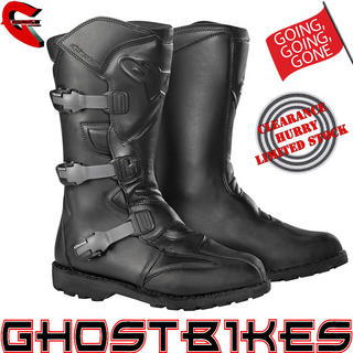 View Item Alpinestars Scout Waterproof Motorcycle Boots