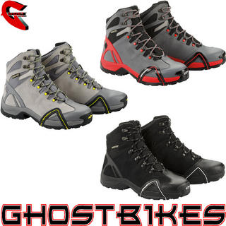 View Item Alpinestars CR-4 Gore Tex Motorcycle Boots