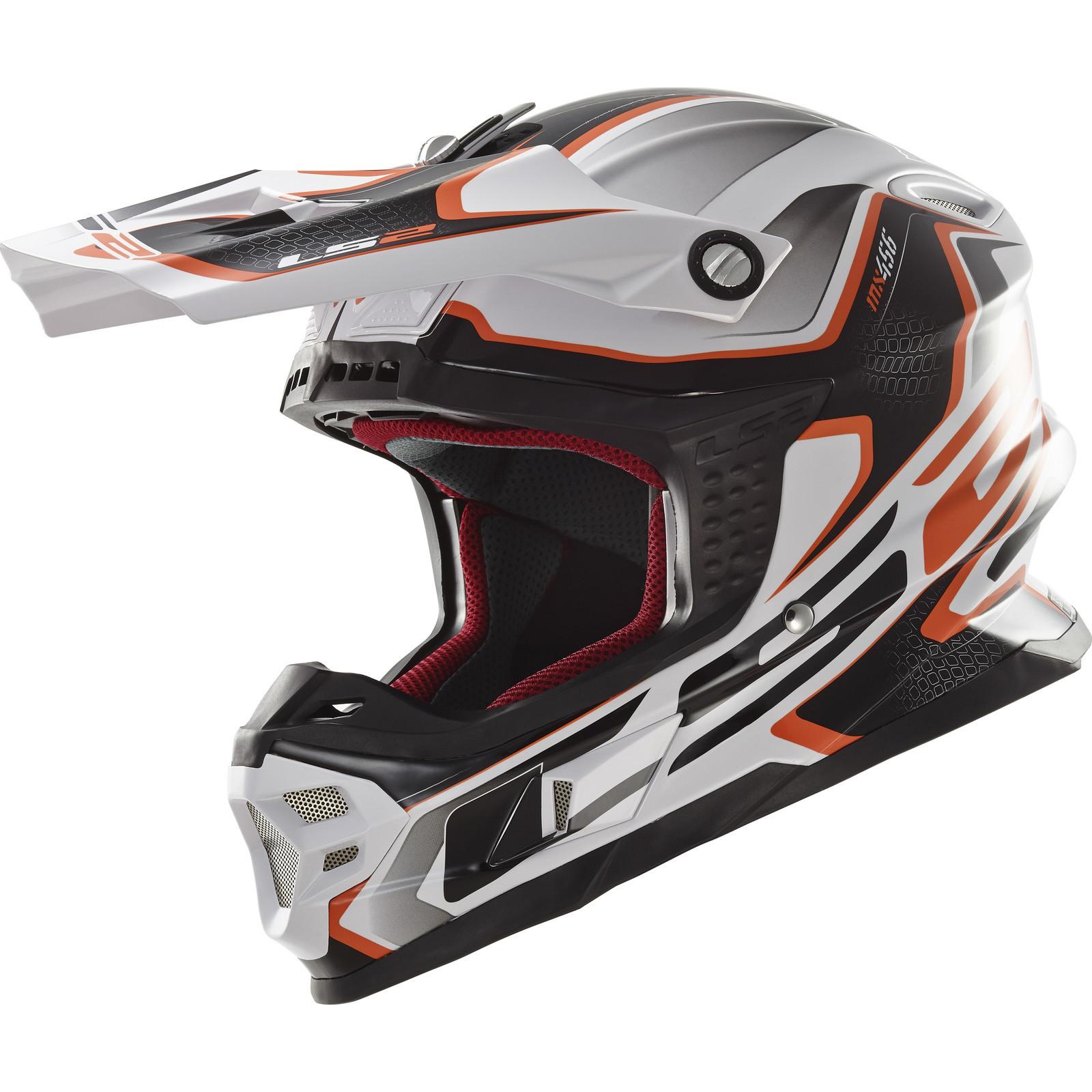 18266e16 Ls2 Mx456 Light Motocross Helmet Single Mono Tuareg
