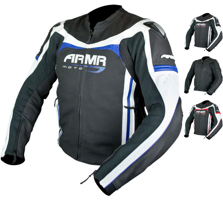 ARMR Moto Raiden Leather Motorcycle Jacket