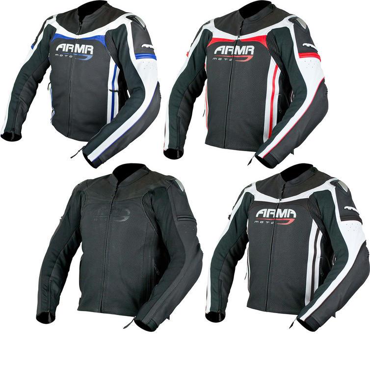 ARMR Moto Raiden Leather Motorcycle Jacket