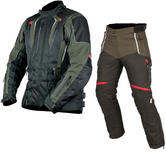 ARMR Moto Tottori 2 Jacket & Tottori Trousers Motorcycle Black Kit